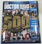 Doctor Who Magazine Celebrating 500 Issues Limited Edition